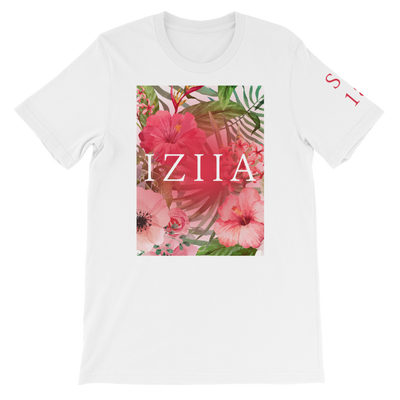 IZIIA Tropical Flower SS18 Unisex T-Shirt  - IZIIA