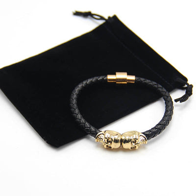 The Golden Skull Bracelets - IZIIA