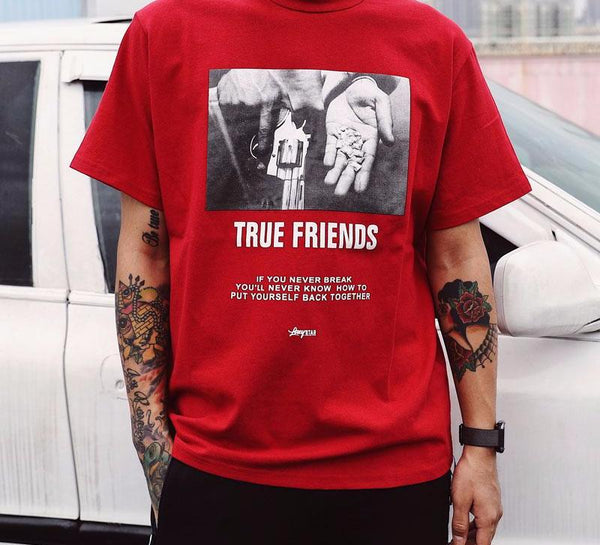 Unisex True Friends T-shirt T-shirts - IZIIA