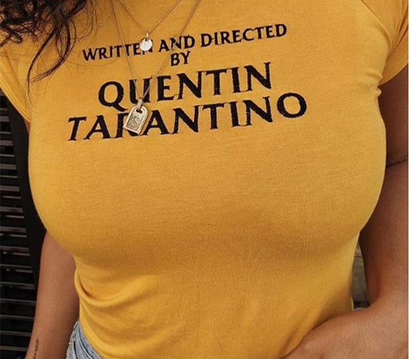 Quentin Tarantino T-Shirt women's clothing - IZIIA