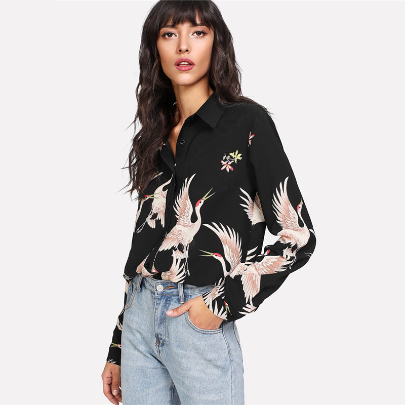 Savannah Floral Blouse Top women's clothing - IZIIA