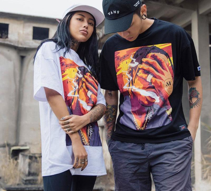 Unisex Smoked Out T-shirt Unisex Clothing - IZIIA