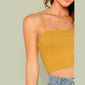 Shay Ribbed Crop Top women's clothing - IZIIA