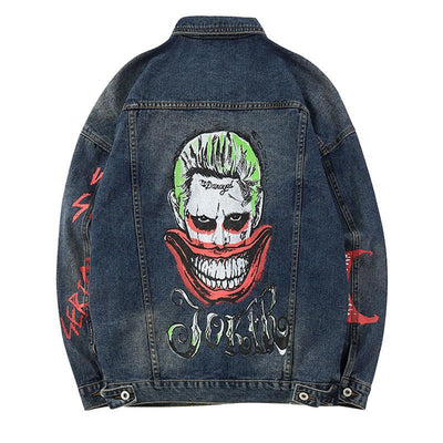 Unisex The Joker Denim Jacket  - IZIIA