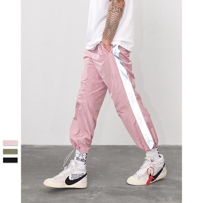 Unisex London Retro Reflect Joggers Unisex Clothing - IZIIA