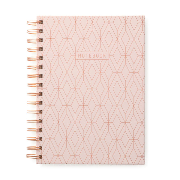 twin-wire-journals-copper-geo-pink