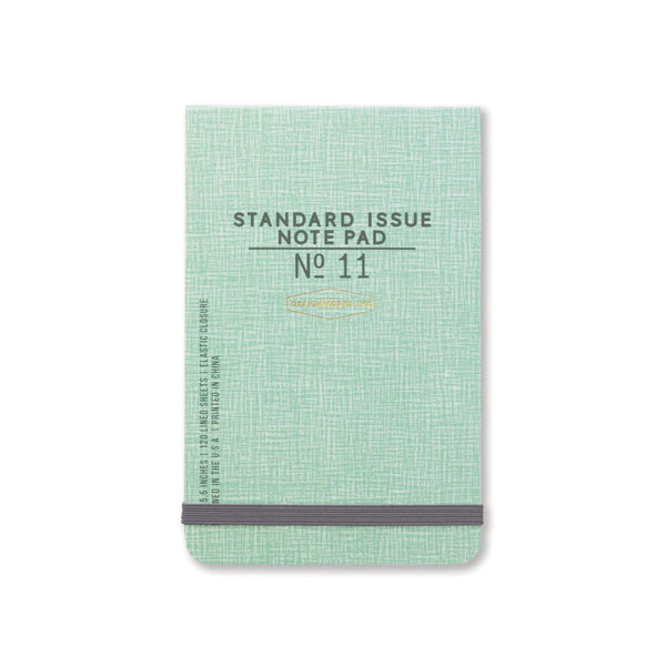 standard-issue-note-pad-no-11-green