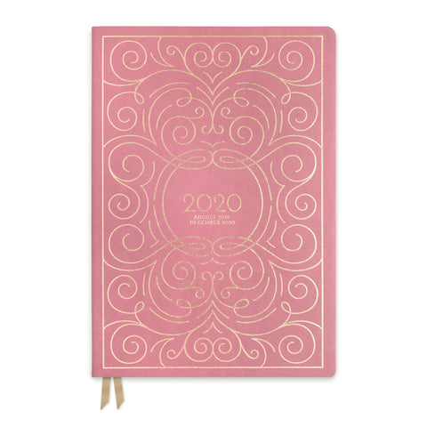 LARGE VEGAN LEATHER AGENDA |