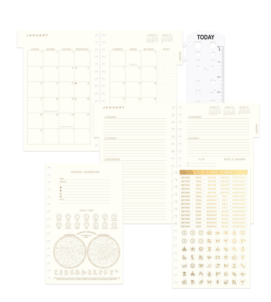 12 Month 2021 Planner | Plans & Inspirations