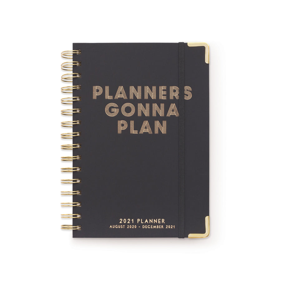 "17 MONTH TWIN WIRE AGENDA | ""PLANNERS GONNA PLAN"""