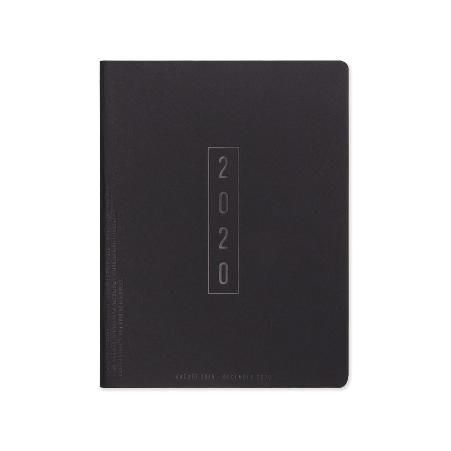 "SMALL SIMPLE PLANNER | ""2020"" BLOCK"