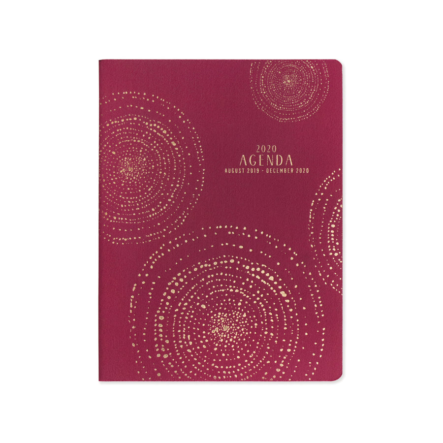 "SMALL SIMPLE CLOTH PLANNER | SPARKLE ""2020 AGENDA"""