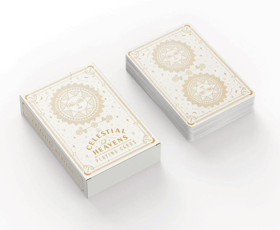 Playing Cards - Celestial Heavens