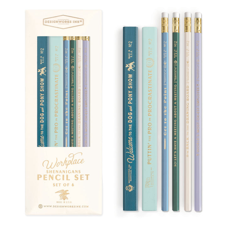 PENCIL SET | WORKPLACE SHENANIGANS