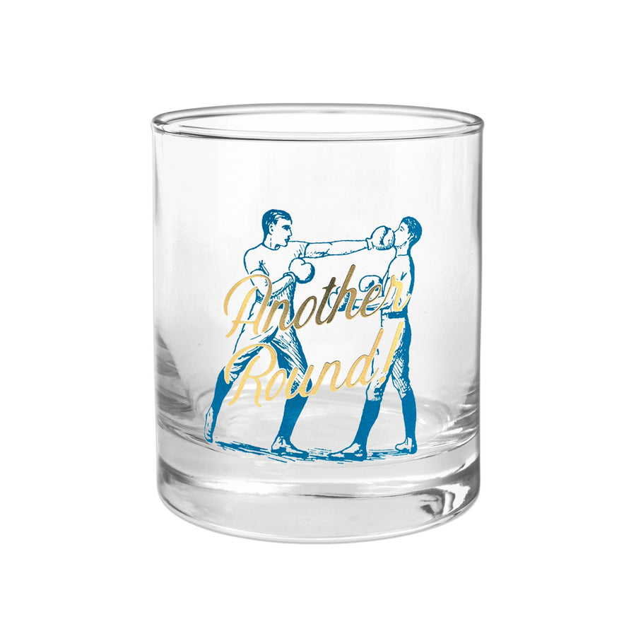 "BARWARE ROCKS GLASS | ""ANOTHER ROUND!"""