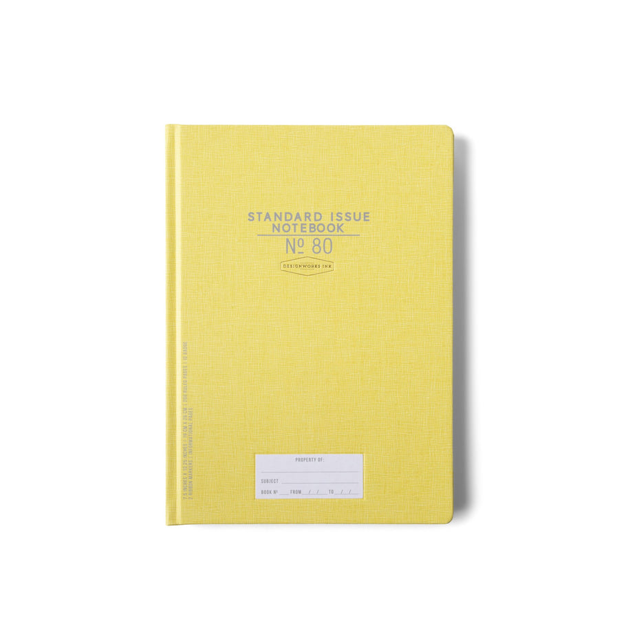 STANDARD ISSUE LARGE NOTEBOOK NO. 80 | OCHRE