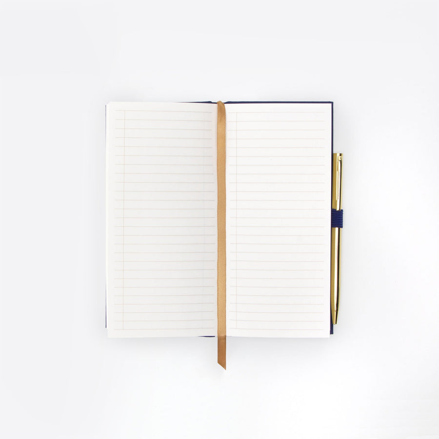 "SKINNY JOURNAL WITH PEN | ""DONE & DONE"""