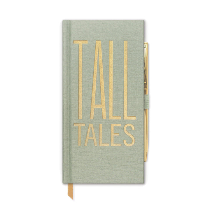 "SKINNY JOURNALS WITH PEN | ""TALL TALES"""