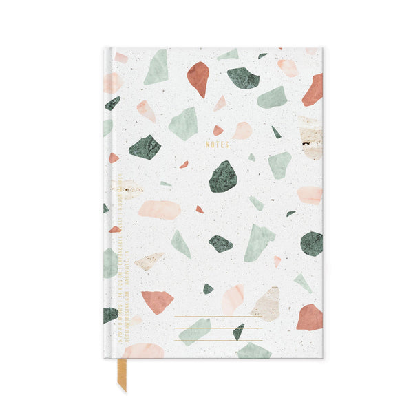 HARD COVER JOURNAL WITH POCKET |