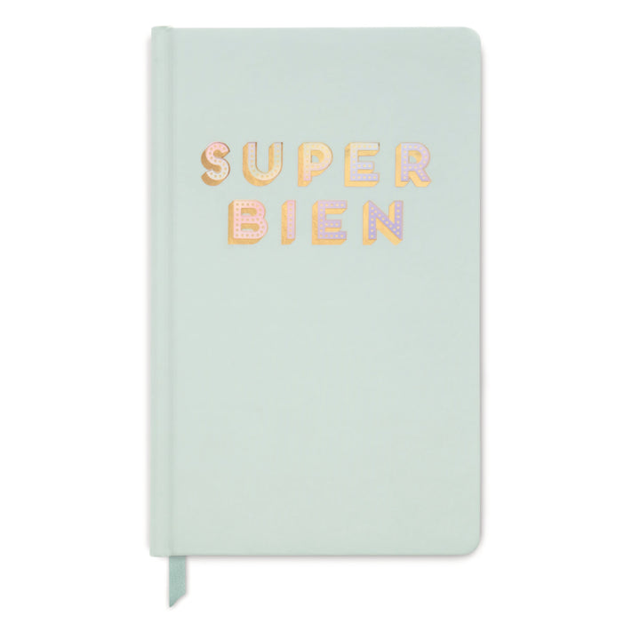 "HARD COVER JOURNAL | IRIDESCENT ""SUPER BIEN"""