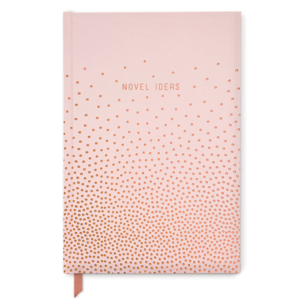 HARD COVER JOURNAL | COPPER DOTS