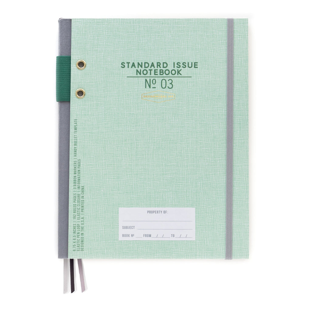 standard-issue-notebook-no3-green