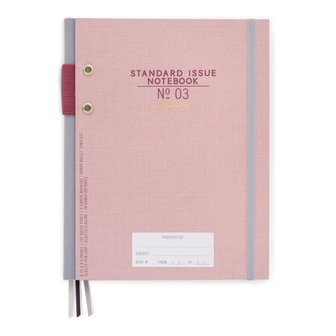 STANDARD ISSUE NOTEBOOK NO.3 | DUSTY PINK