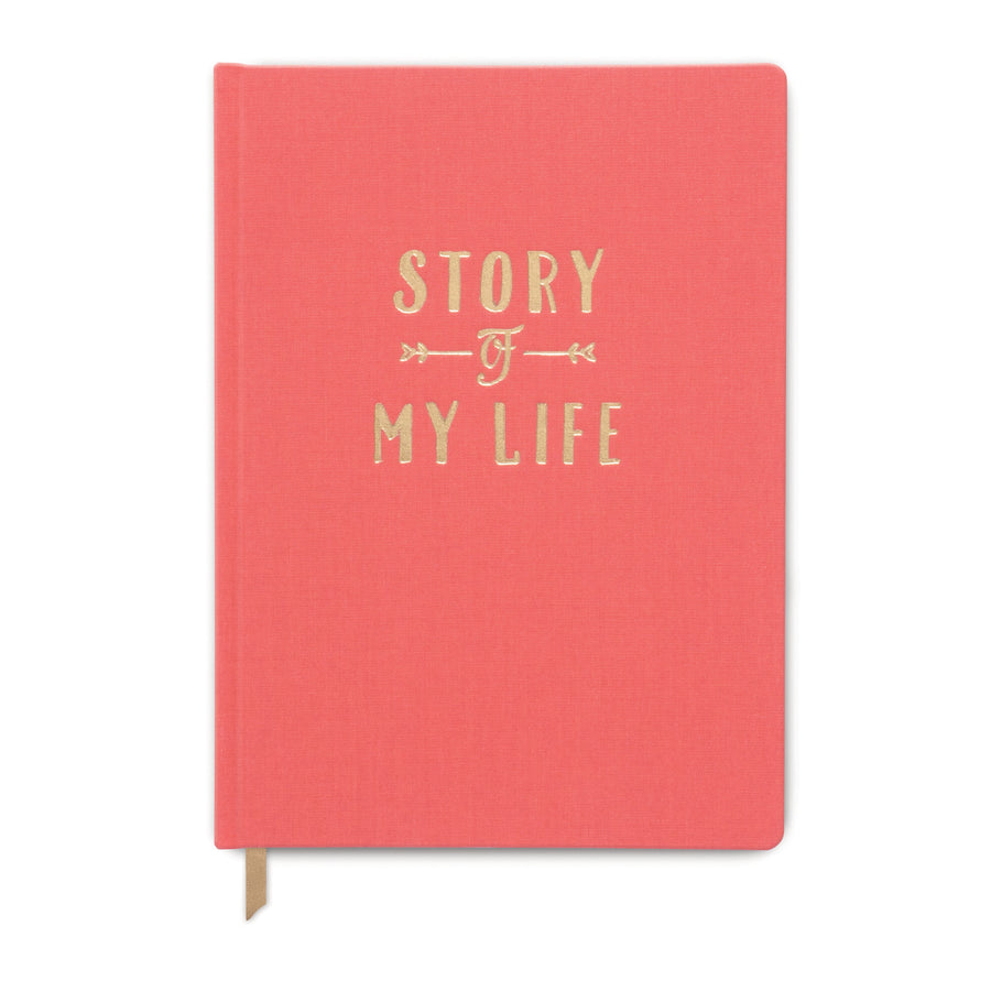 "CLOTH COVER JOURNAL | ""STORY OF MY LIFE"""