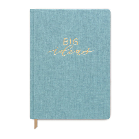 CLOTH COVER JOURNAL | SEAFOAM