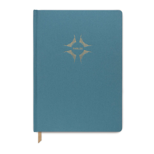 PEARLIZED METALLIC CLOTH JOURNAL |
