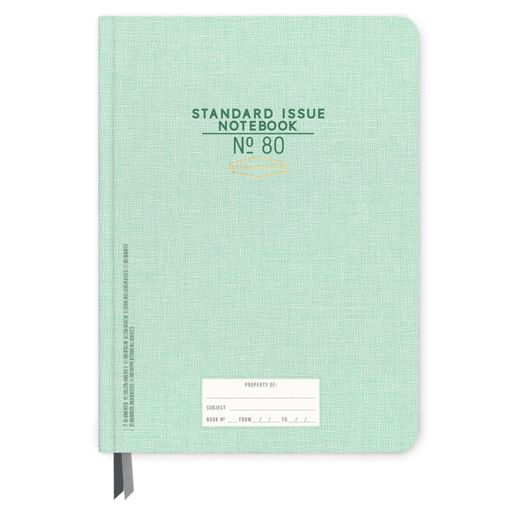 STANDARD ISSUE LARGE NOTEBOOK NO. 80 | GREEN
