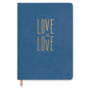 "CLOTH SUEDE JOURNAL | ""LOVE IS LOVE"""