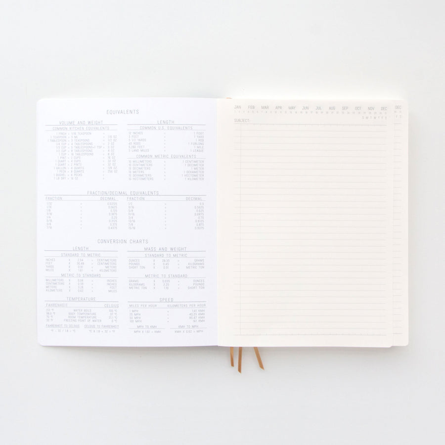 STANDARD ISSUE PROJECT NOTEBOOK NO.4 | BLACK