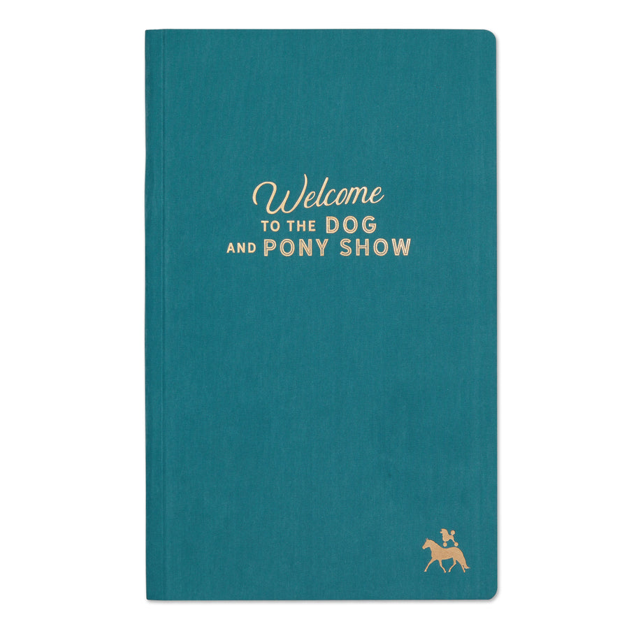 Dog and Pony Show - Tall Notebook