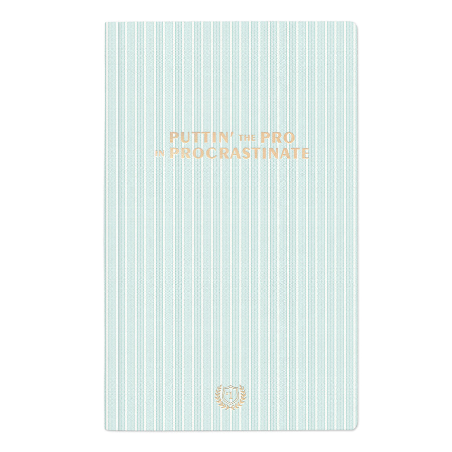 Procrastinate - Tall Notebook