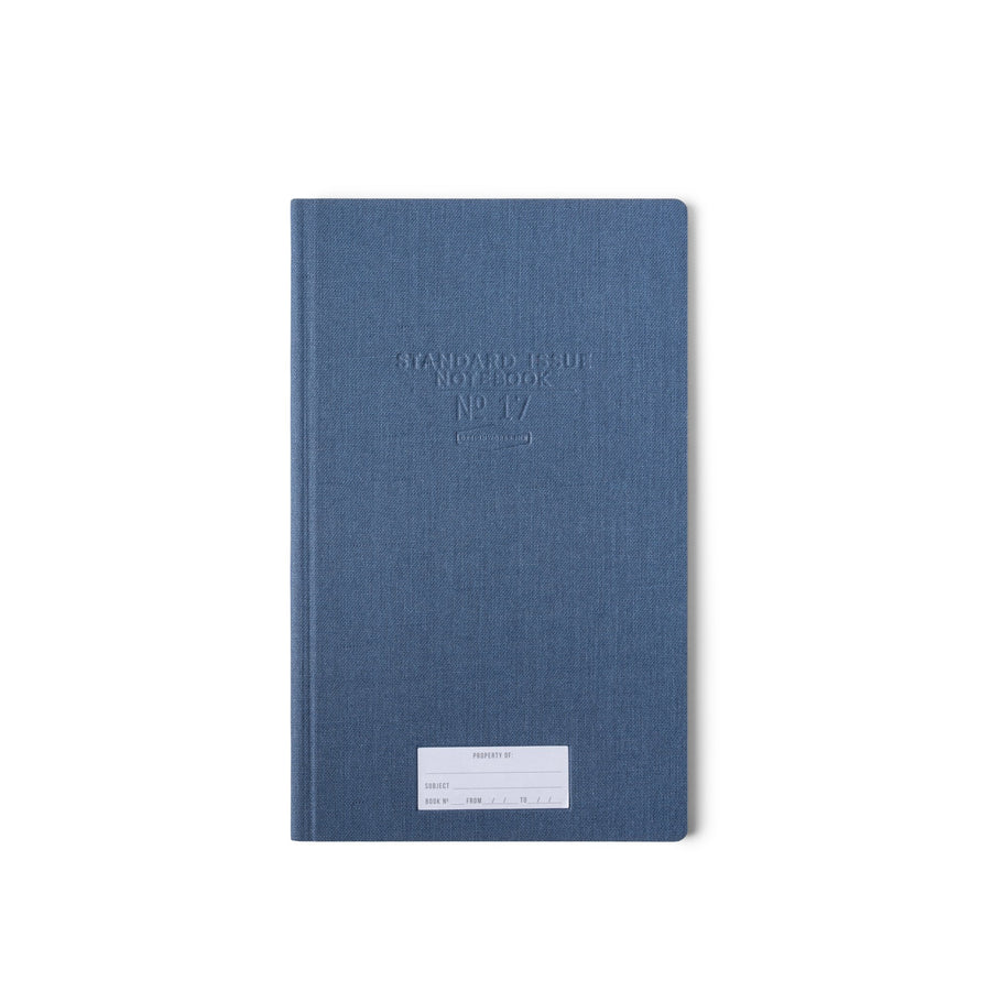 STANDARD ISSUE TALL NOTEBOOK NO.17 | BLUE