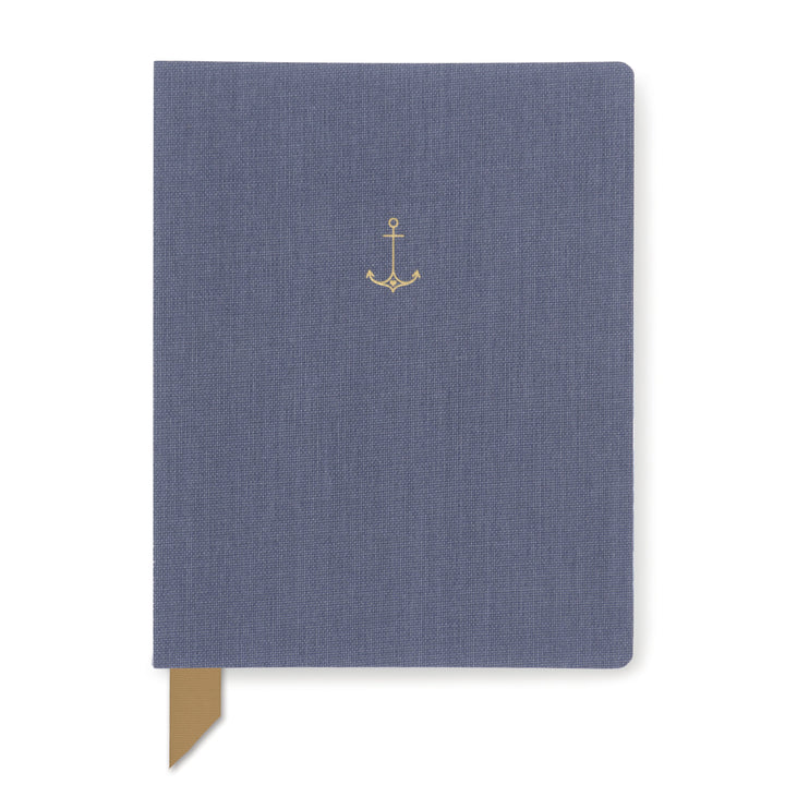 EXPOSED SPINE PERPETUAL PLANNER | ANCHOR