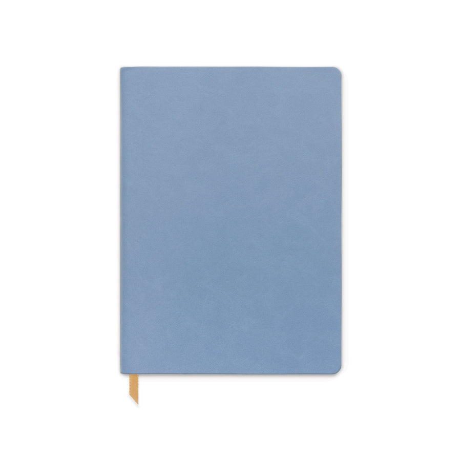 VEGAN LEATHER JOURNAL | CORNFLOWER BLUE