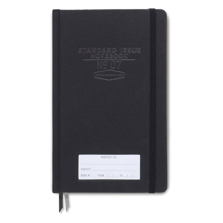 STANDARD ISSUE NOTEBOOK NO.07 | BLACK