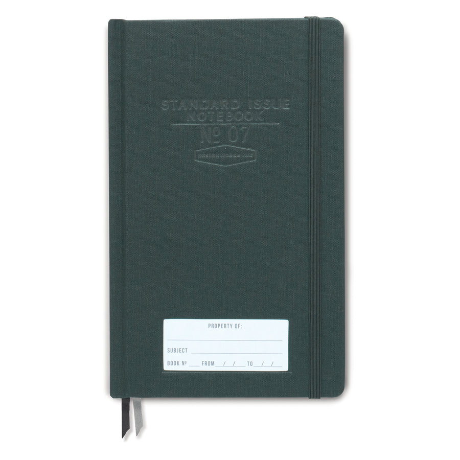 STANDARD ISSUE NOTEBOOK NO.07 | GREEN