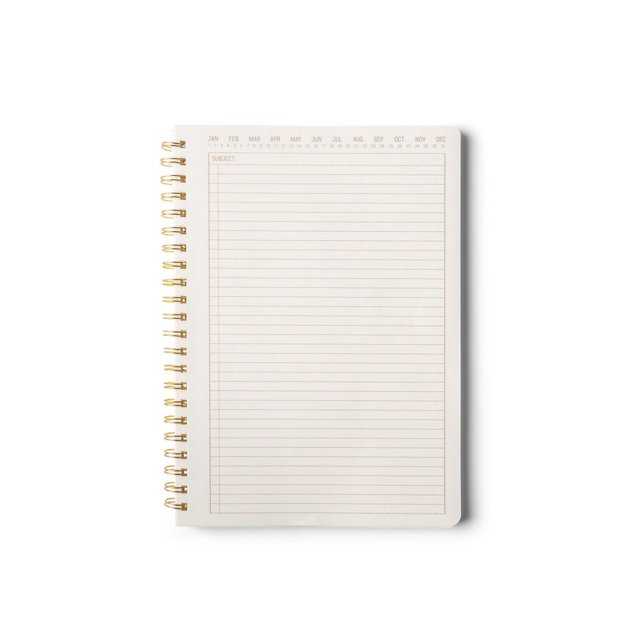 TEXTURED PAPER TWIN WIRE | MEDIUM SPECKLED IVORY