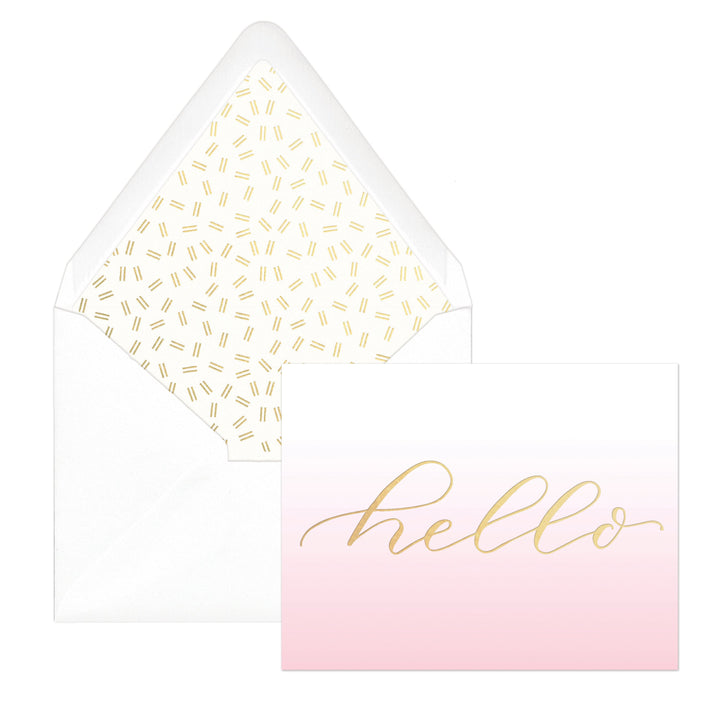 "PINK OMBRE | ""HELLO"""