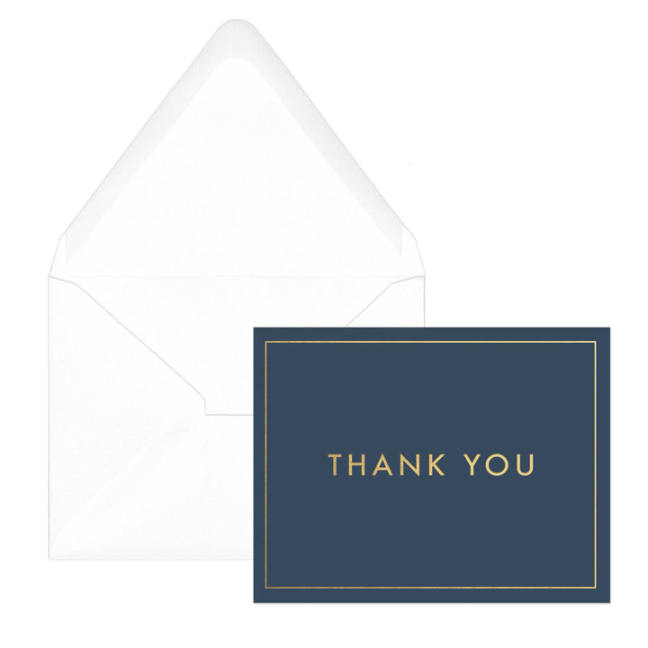 "STANDARD ISSUE BOXED NOTE CARDS | SIMPLE ""THANK YOU"""