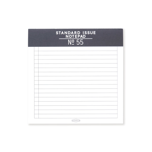 STANDARD ISSUE SQUARE NOTE PAD | BLACK