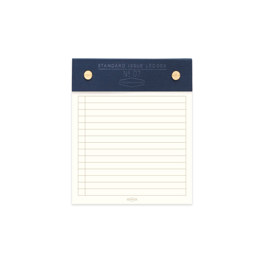 STANDARD ISSUE POST BOUND LEDGER NO. 07 | BLUE