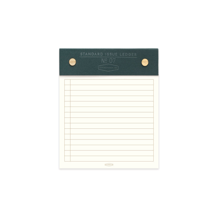 STANDARD ISSUE POST BOUND LEDGER NO. 07 | GREEN