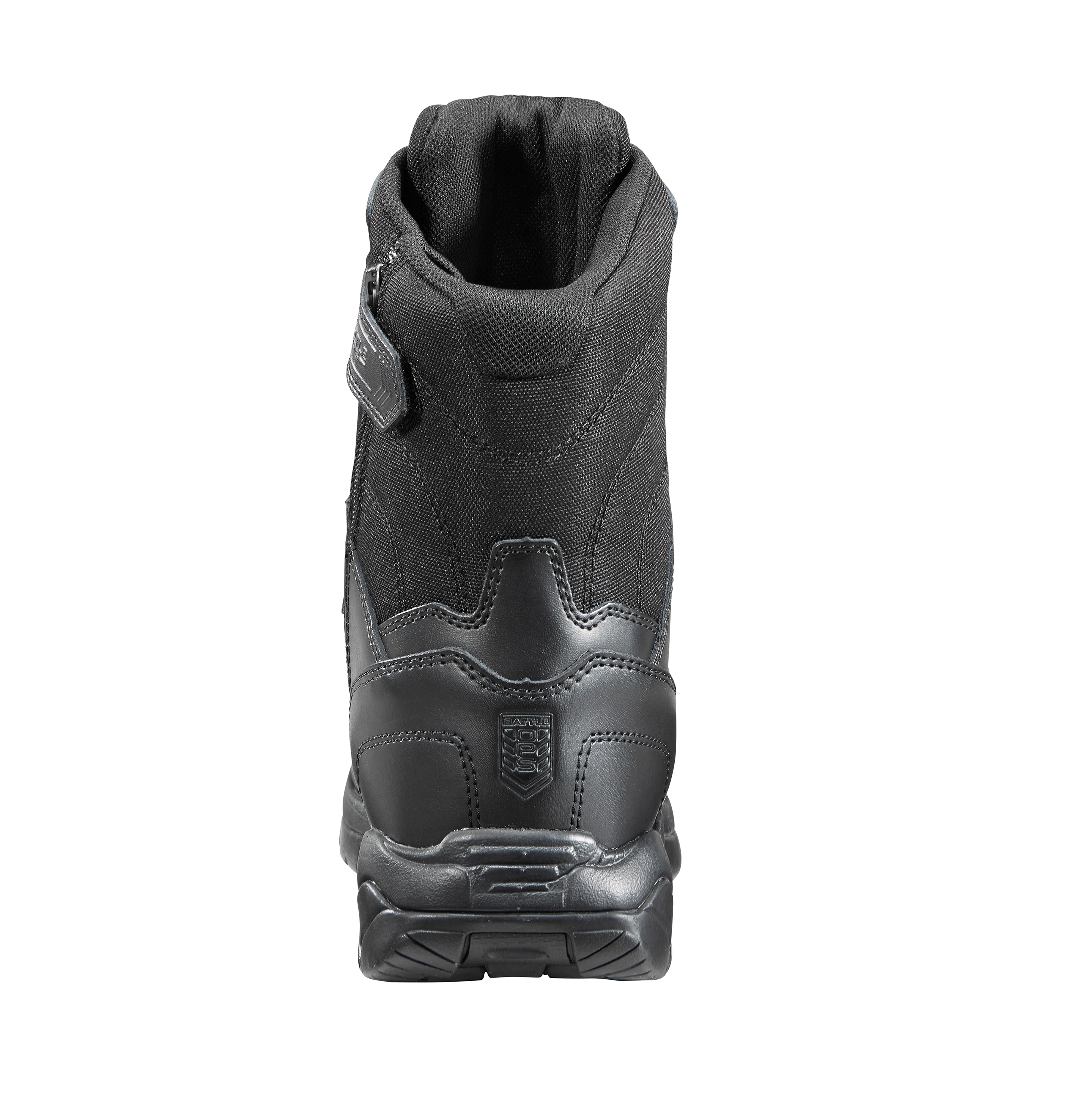 8-inch Waterproof Black Tactical Boot - Side Zip & Comp Safety Toe