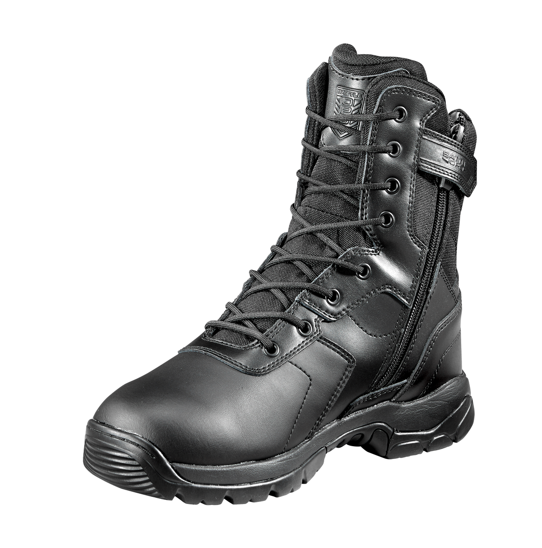 Waterproof black tactical boot