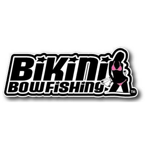 Bikini Bowfishing Logo Decal