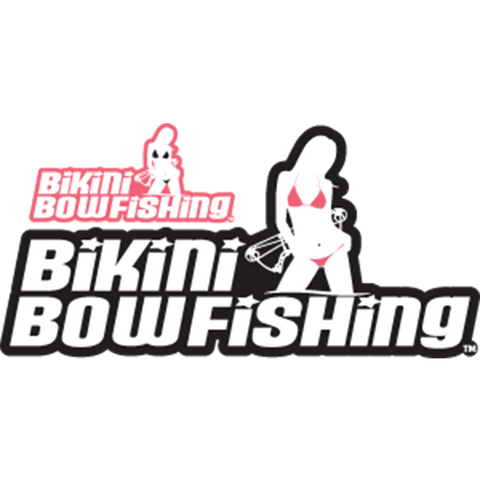 Bikini Bowfishing Original Logo Decal